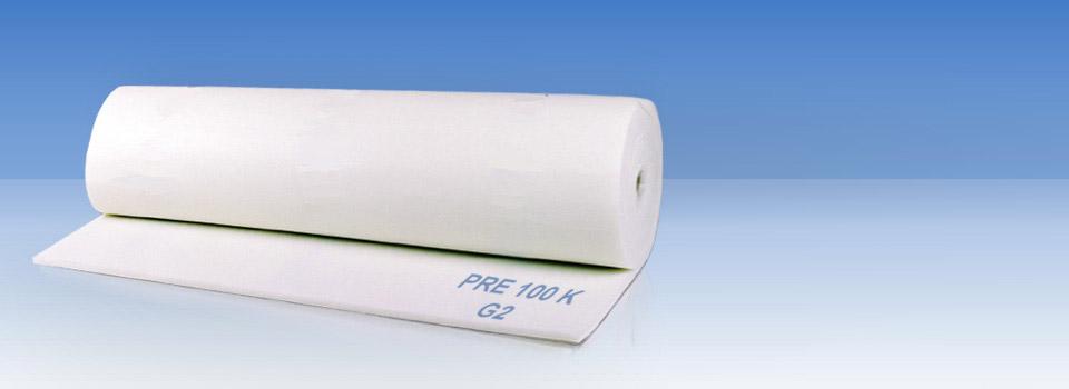 filter materijali filter mats pads rolls